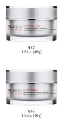 Ultra Lite and Fortified Moisturizers